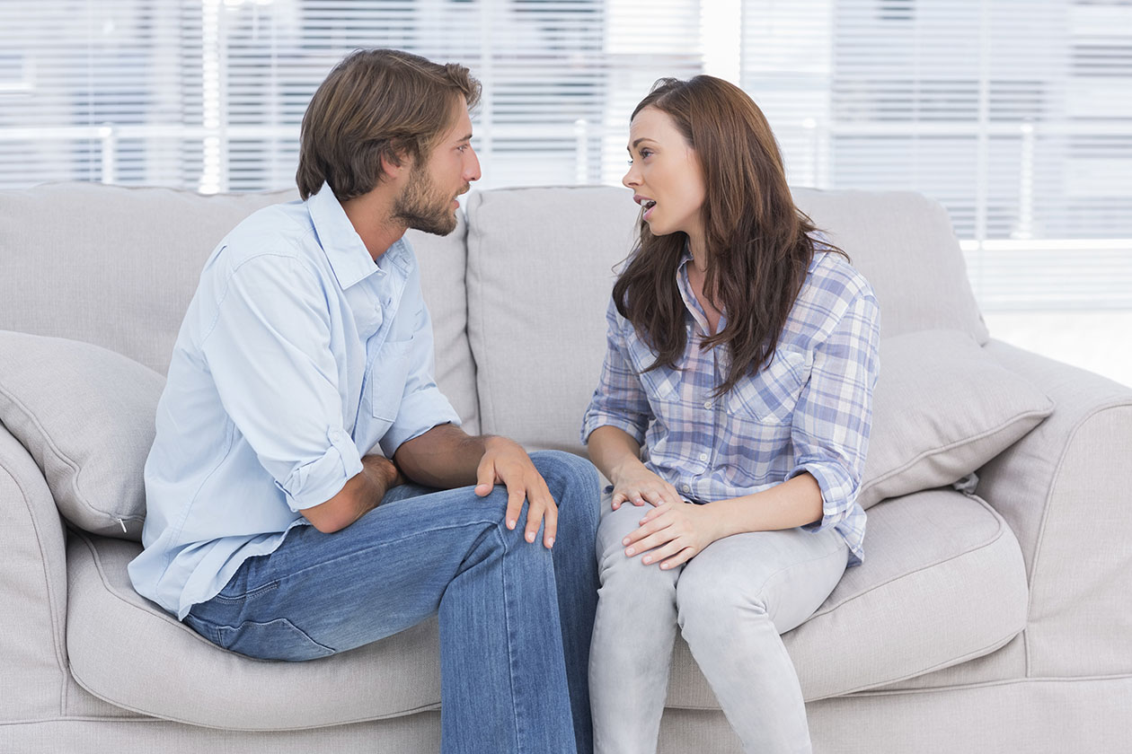 Be honest about what you need from your spouse